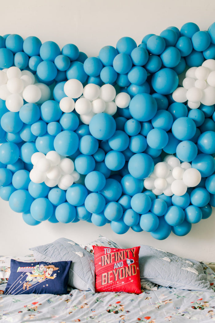 Toy Story Lounge from a Toy Story Party on Kara's Party Ideas | KarasPartyIdeas.com (9)