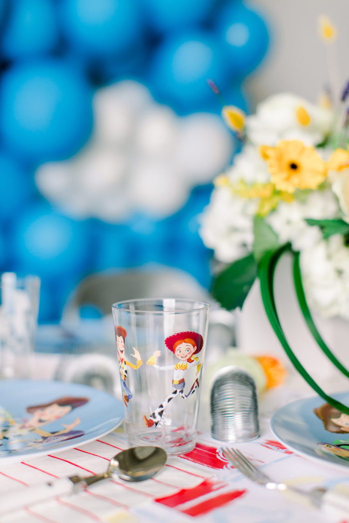 Toy Story Cup from a Toy Story Party on Kara's Party Ideas | KarasPartyIdeas.com (31)