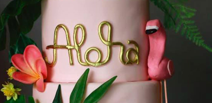 Tropical Pink Flamingo Baby Shower on Kara's Party Ideas | KarasPartyIdeas.com (2)