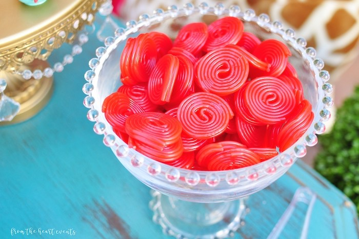 Licorice Wheels from a Vintage Circus Birthday Party on Kara's Party Ideas | KarasPartyIdeas.com (9)