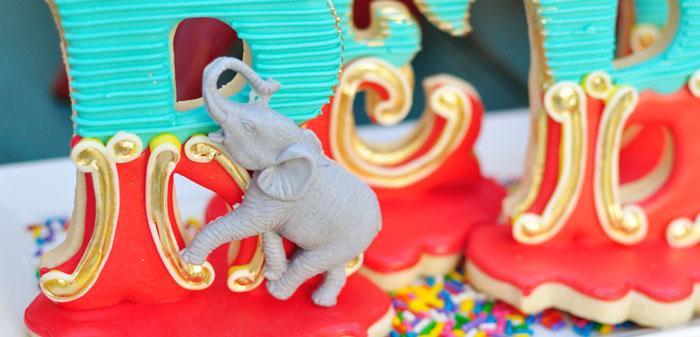 Vintage Circus Birthday Party on Kara's Party Ideas   KarasPartyIdeas.com (5)