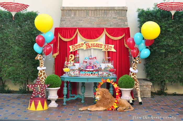 Vintage Circus Birthday Party on Kara's Party Ideas | KarasPartyIdeas.com (21)