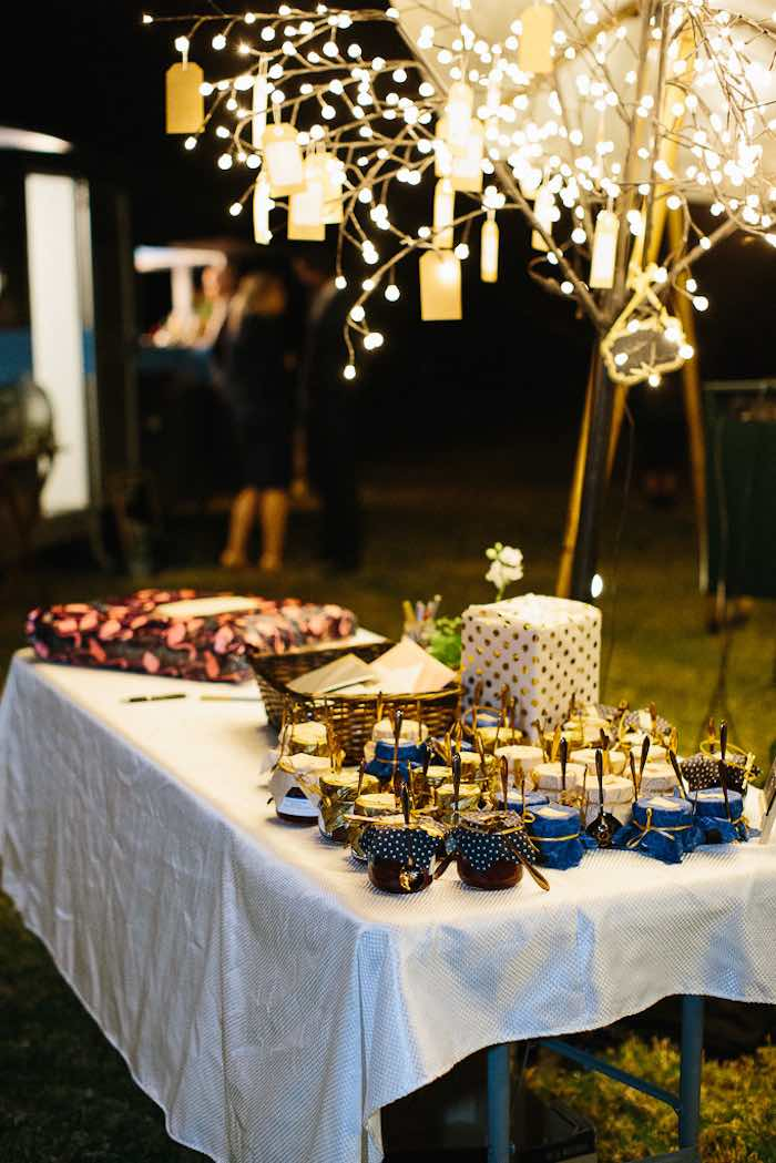 Gift + Favor Table from a Whimsical Festival Inspired Wedding on Kara's Party Ideas | KarasPartyIdeas.com (2)