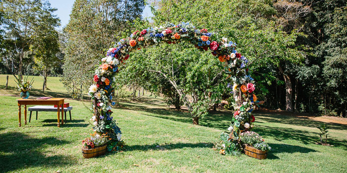 Whimsical Festival Inspired Wedding on Kara's Party Ideas | KarasPartyIdeas.com (1)