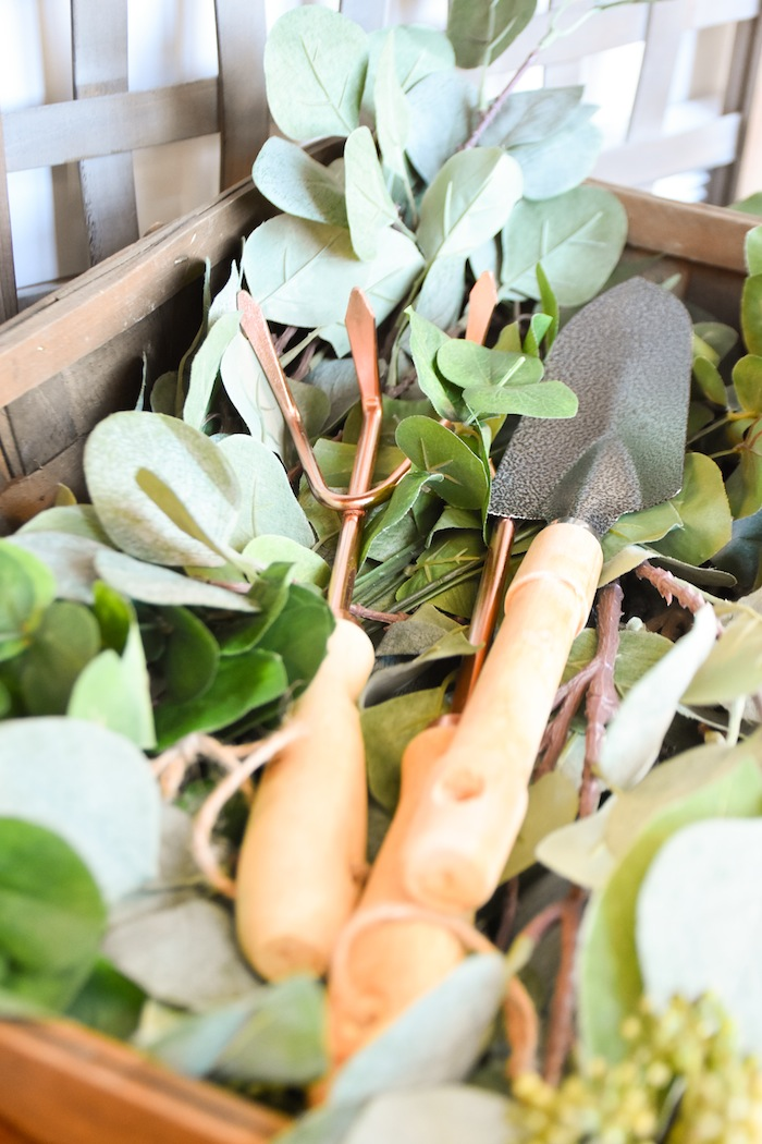 Garden Rustic Earth Right After Rain Farmhouse Boy Baptism Party Luncheon LDS by Kara's Party Ideas KarasPartyIdeas.com