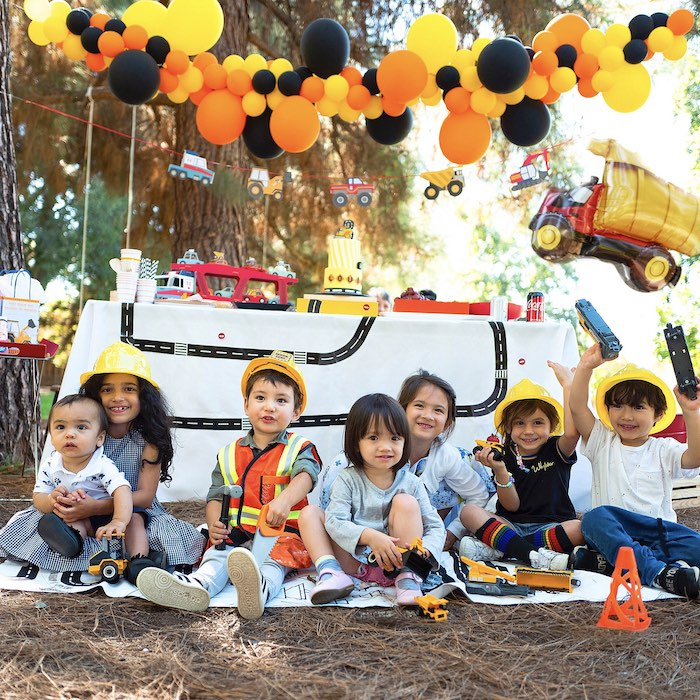 Construction Birthday Party on Kara's Party Ideas | KarasPartyIdeas.com