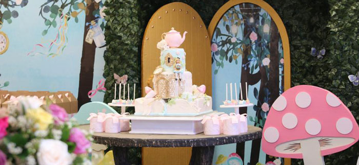 Alice in Wonderland Tea Party on Kara's Party Ideas | KarasPartyIdeas.com (1)