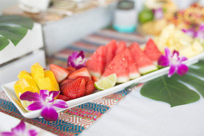 Fruit Platter from a Bachelor in Paradise Viewing Party on Kara's Party Ideas | KarasPartyIdeas.com (23)
