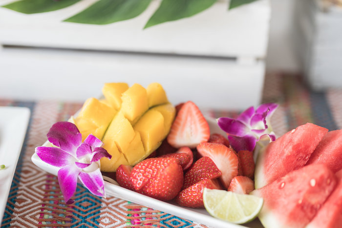 Fruit Platter from a Bachelor in Paradise Viewing Party on Kara's Party Ideas | KarasPartyIdeas.com (22)