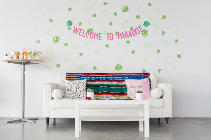 Fiesta Guest Table from a Bachelor in Paradise Viewing Party on Kara's Party Ideas | KarasPartyIdeas.com (20)