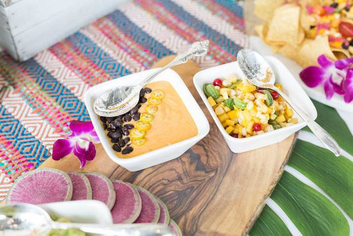Dips + Garnishes from a Bachelor in Paradise Viewing Party on Kara's Party Ideas | KarasPartyIdeas.com (29)