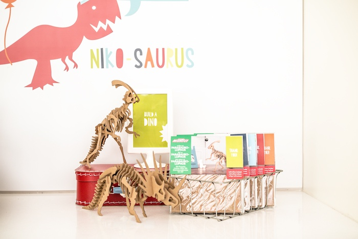 Build A Dino Activity Station from a Dino-mite Birthday Party on Kara's Party Ideas | KarasPartyIdeas.com (27)