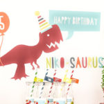 Dino-mite Birthday Party on Kara's Party Ideas | KarasPartyIdeas.com (6)