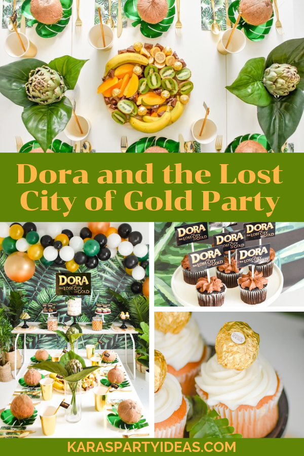 Dora and the Lost City of Gold Party KarasPartyIdeas - KarasPartyIdeas.com