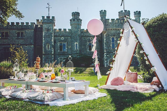 Fairy Castle Princess Party on Kara's Party Ideas | KarasPartyIdeas.com (6)