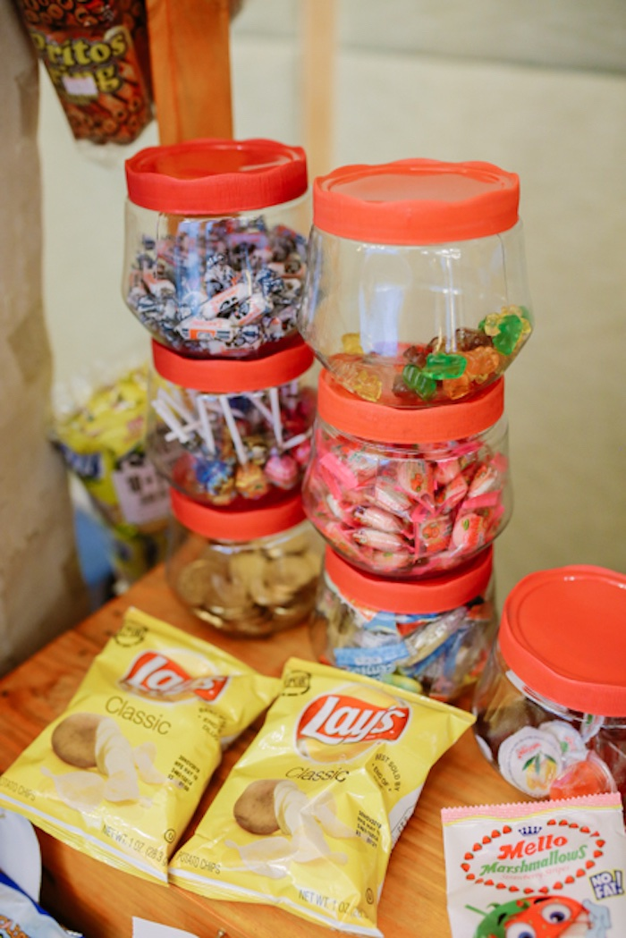 Candy Dishes + Chips from a Filipiniana Inspired Birthday Party on Kara's Party Ideas | KarasPartyIdeas.com (8)