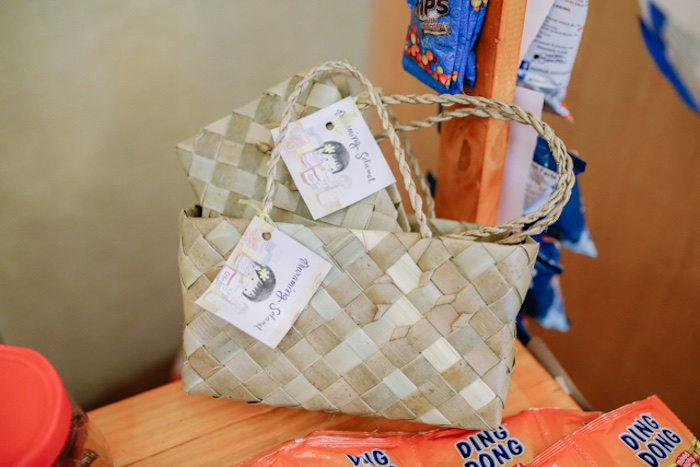 Weaved Baskets from a Filipiniana Inspired Birthday Party on Kara's Party Ideas | KarasPartyIdeas.com (7)