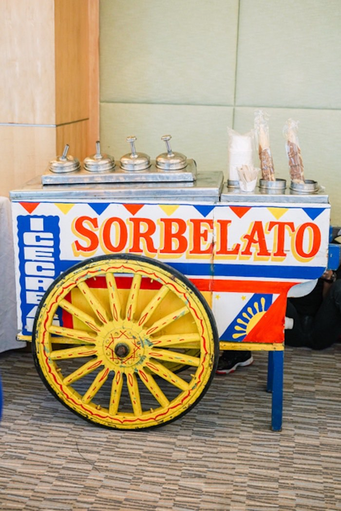 Sorbelato Cart from a Filipiniana Inspired Birthday Party on Kara's Party Ideas | KarasPartyIdeas.com (22)