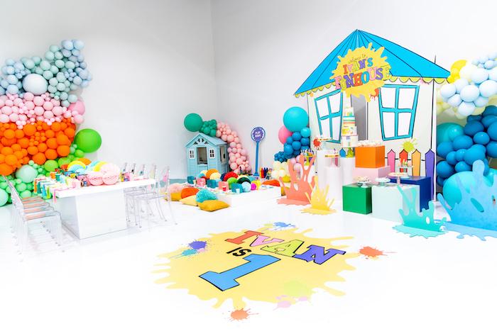 Fun House Birthday Party on Kara's Party Ideas | KarasPartyIdeas.com (25)