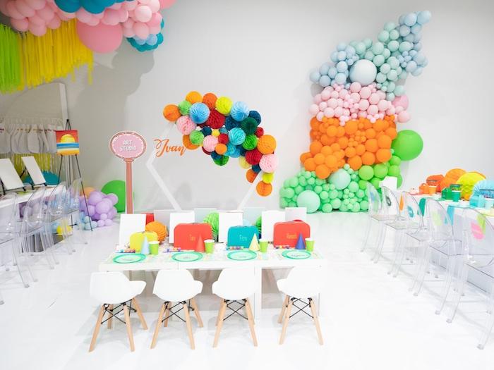Fun House Birthday Party on Kara's Party Ideas | KarasPartyIdeas.com (39)