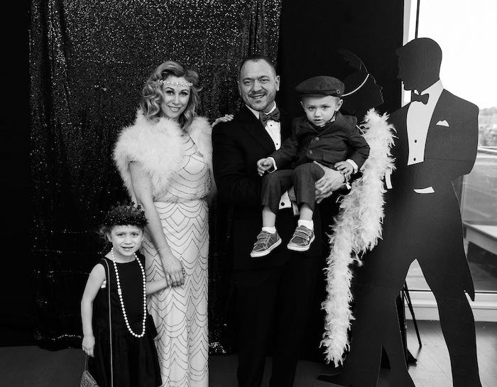 Roaring 20's Photo Booth from a Gatsby Inspired 40th Birthday Party on Kara's Party Ideas | KarasPartyIdeas.com (10)