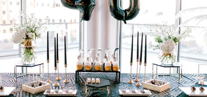 Gatsby Inspired 40th Birthday Party on Kara's Party Ideas | KarasPartyIdeas.com (4)