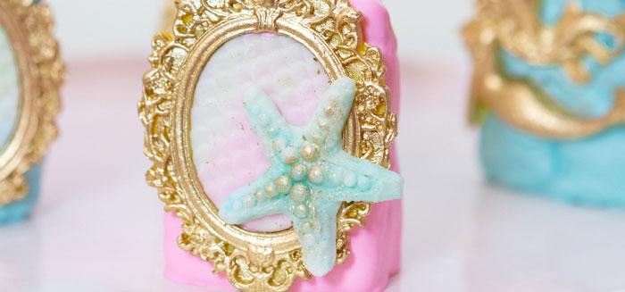 Glamorous Mermaid Birthday Party on Kara's Party Ideas   KarasPartyIdeas.com (1)