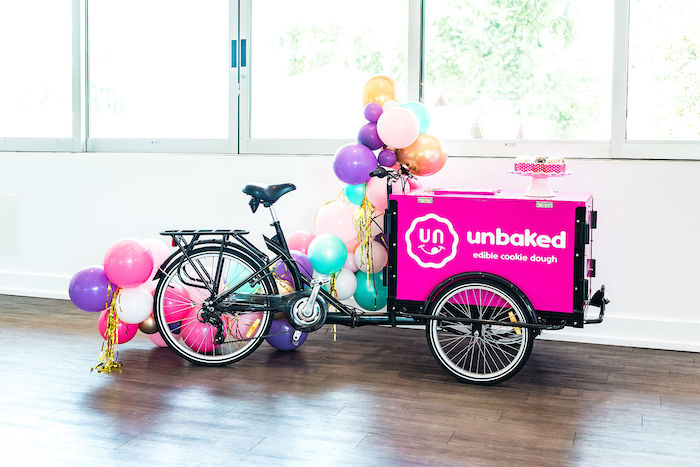Unbaked - Edible Cookie Dough Cart from a Kylie Jenner Inspired Fashion Birthday Party on Kara's Party Ideas | KarasPartyIdeas.com (16)