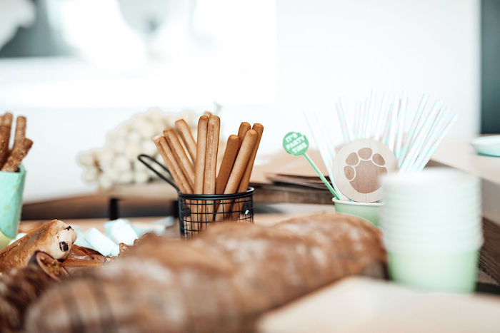 Thin Breadsticks from a Modern Minimal Wild & Three Birthday Party on Kara's Party Ideas | KarasPartyIdeas.com (17)
