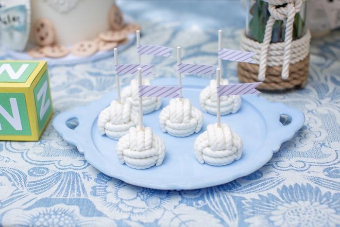Nautical Rope Cake Pops from a Nautical Sesame Street Birthday Party on Kara's Party Ideas   KarasPartyIdeas.com (9)