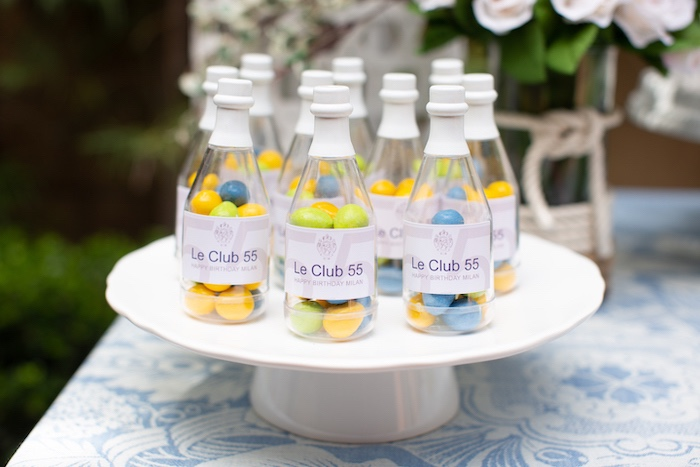 Sesame Street Favor Bottles from a Nautical Sesame Street Birthday Party on Kara's Party Ideas | KarasPartyIdeas.com (7)