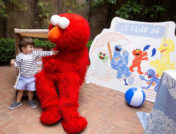 Nautical Sesame Street Birthday Party on Kara's Party Ideas | KarasPartyIdeas.com (4)
