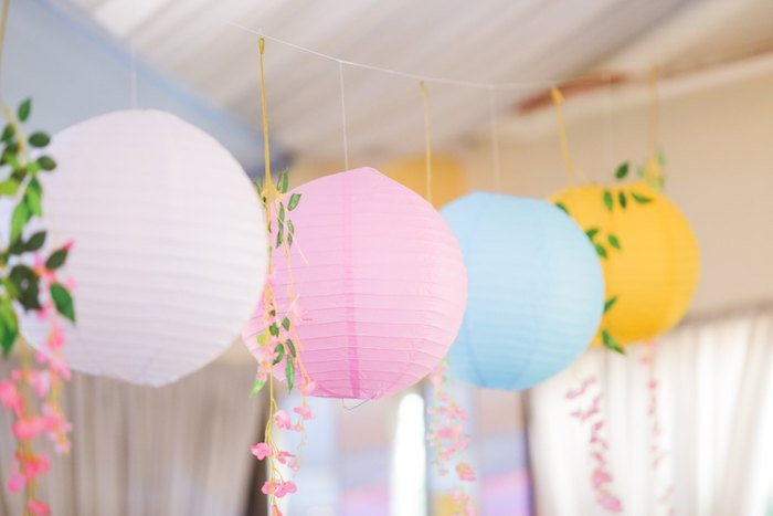 Paper Lanterns from a Nursery Rhyme Birthday Party on Kara's Party Ideas | KarasPartyIdeas.com (21)