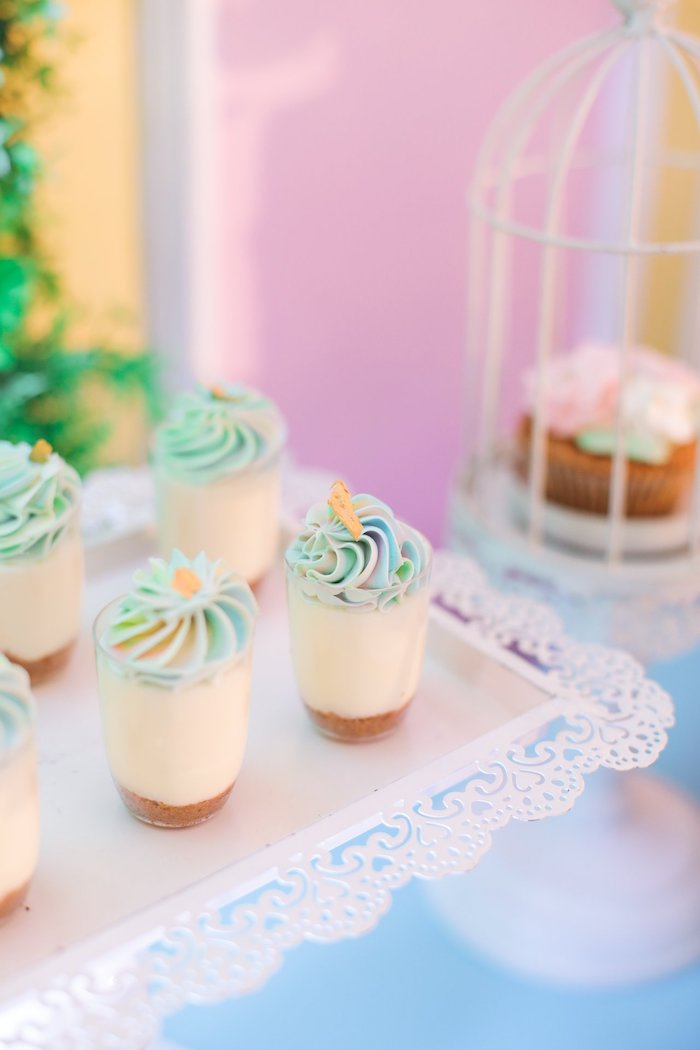 Dessert Cups from a Nursery Rhyme Birthday Party on Kara's Party Ideas | KarasPartyIdeas.com (20)