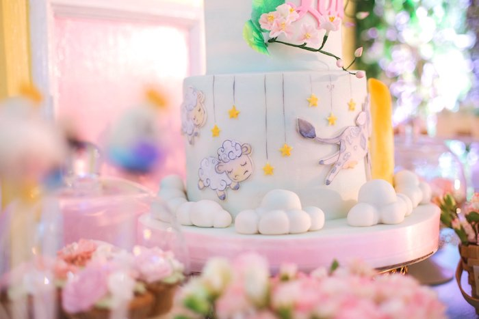 Nursery Rhyme Cake from a Nursery Rhyme Birthday Party on Kara's Party Ideas | KarasPartyIdeas.com (9)