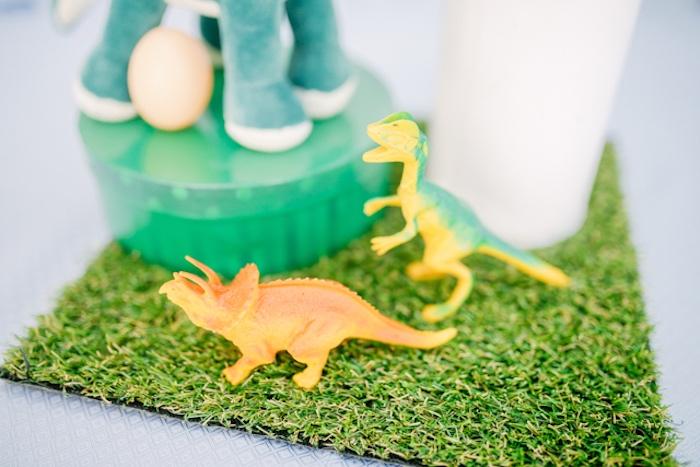 Plastic Dinosaurs from a Pastel Dinosaur Birthday Party on Kara's Party Ideas | KarasPartyIdeas.com (20)