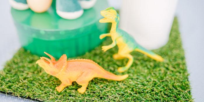 Pastel Dinosaur Birthday Party on Kara's Party Ideas | KarasPartyIdeas.com (3)