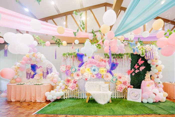 Pastel Garden Birthday Party on Kara's Party Ideas | KarasPartyIdeas.com (11)