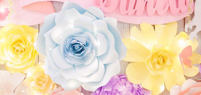 Pastel Garden Birthday Party on Kara's Party Ideas | KarasPartyIdeas.com (4)