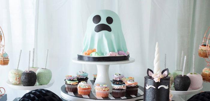 Pastel Halloween Birthday Party on Kara's Party Ideas | KarasPartyIdeas.com (4)
