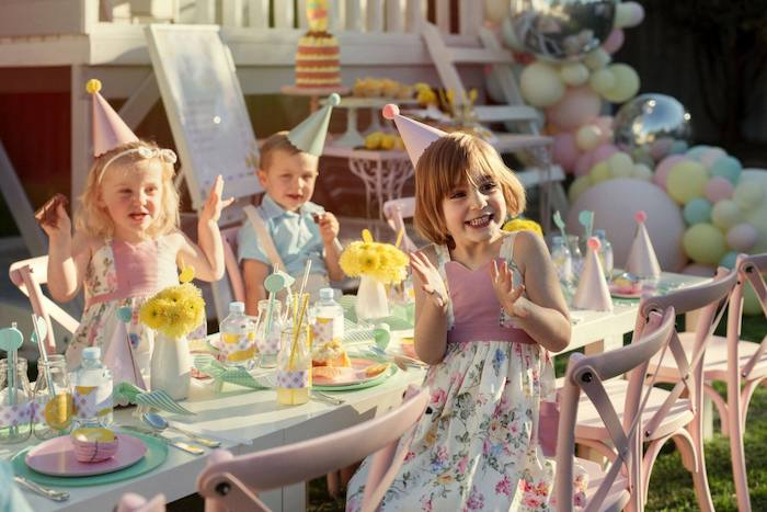 Vintage Chic Sunshine & Lemonade Party on Kara's Party Ideas | KarasPartyIdeas.com (24)