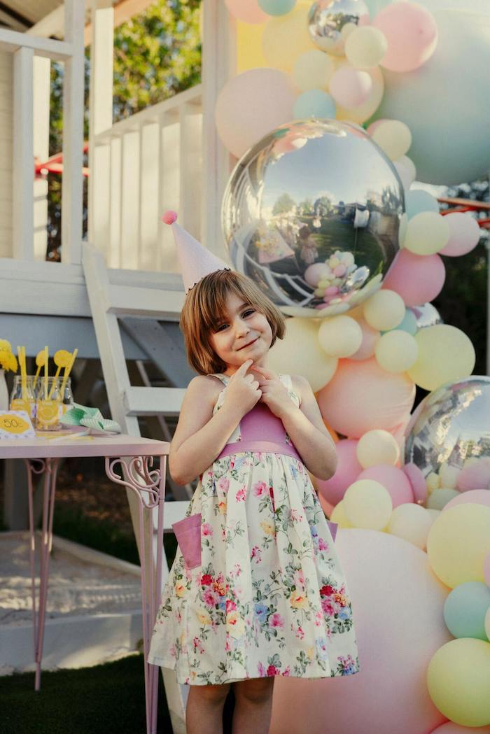 Vintage Chic Sunshine & Lemonade Party on Kara's Party Ideas | KarasPartyIdeas.com (16)
