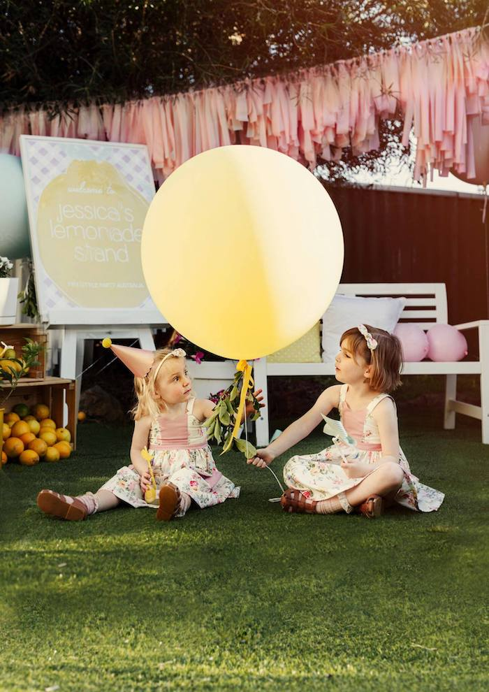 Vintage Chic Sunshine & Lemonade Party on Kara's Party Ideas | KarasPartyIdeas.com (12)
