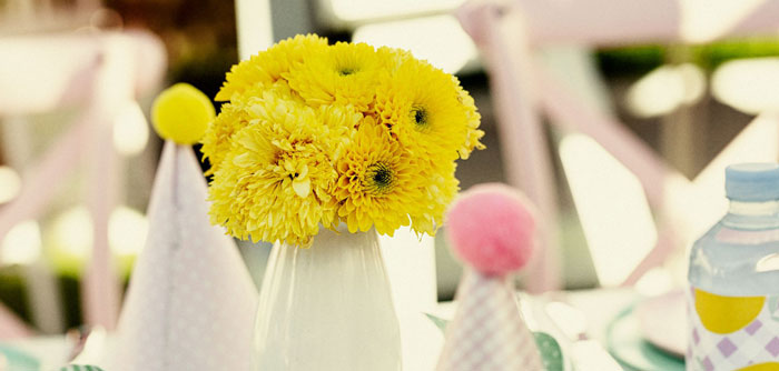 Vintage Chic Sunshine & Lemonade Party on Kara's Party Ideas | KarasPartyIdeas.com (5)