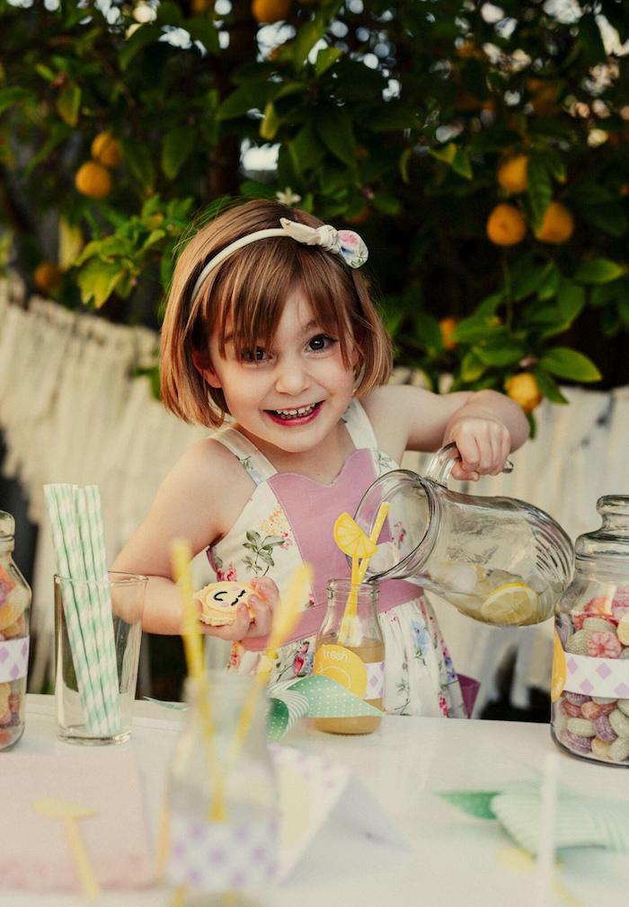 Vintage Chic Sunshine & Lemonade Party on Kara's Party Ideas | KarasPartyIdeas.com (30)