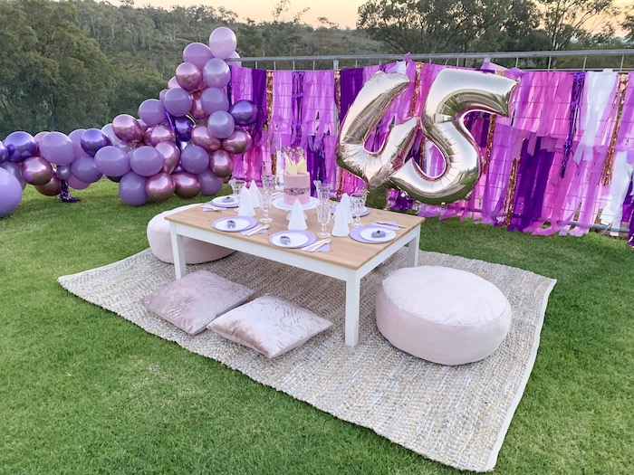 "Kara's Party Ideas ""She's a Gem"" Boho Backyard Birthday ..."