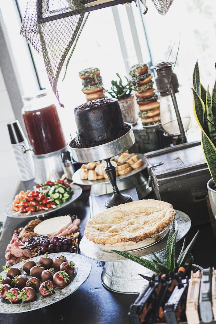 Army-inspired Party + Food Table from an Army Camouflage Birthday Party on Kara's Party Ideas | KarasPartyIdeas.com (16)