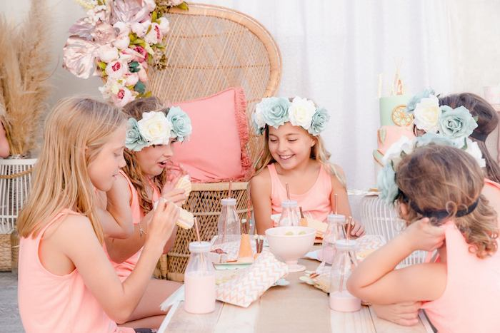 Boho Dreamcatcher Sleepover Birthday Party on Kara's Party Ideas | KarasPartyIdeas.com (29)