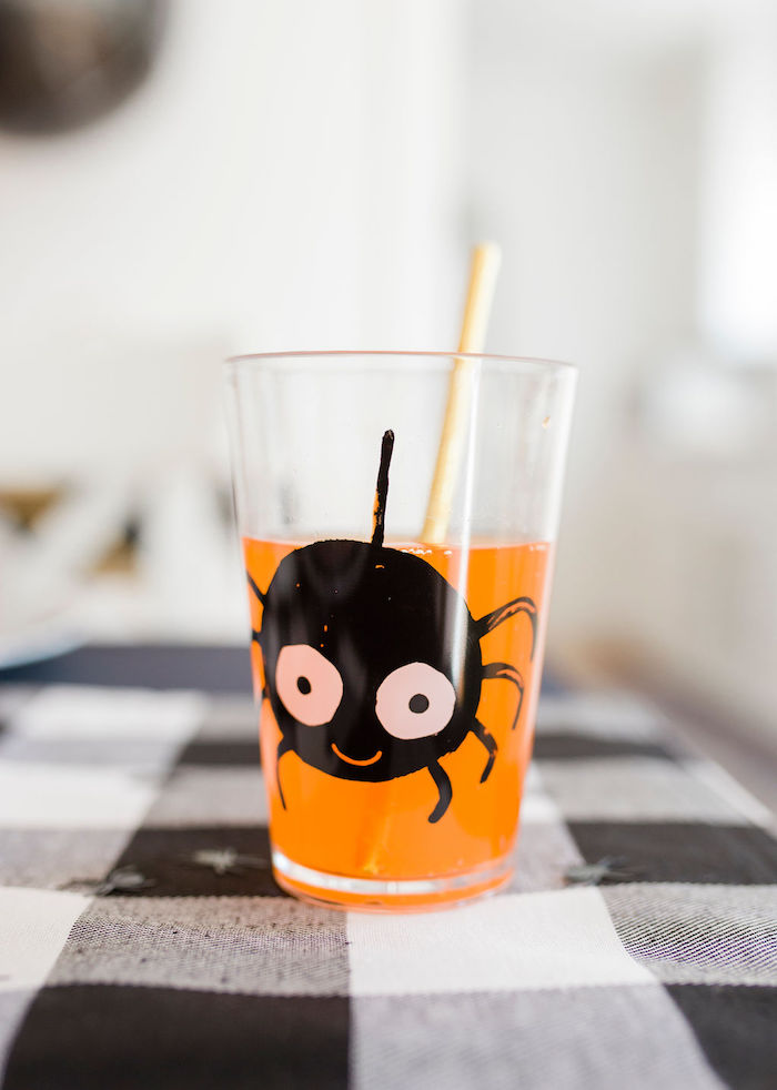 Spider Cup from a Classic Halloween Party for Kids on Kara's Party Ideas | KarasPartyIdeas.com (9)