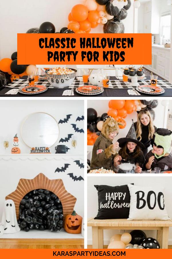 Classic Halloween Party for Kids via Kara's Party Ideas - KarasPartyIdeas.com
